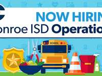 Conroe ISD Operations is now hiring!