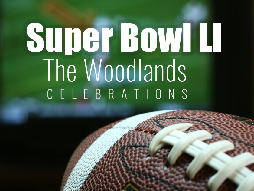 Super Bowl LI Celebrations in The Woodlands