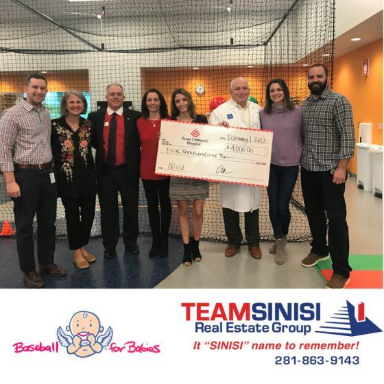 TeamSinisi Teams Up with Baseball For Babies