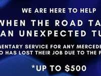 Free Mercedes-Benz Service if you lost your job