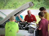 Milstead Automotive Teaches Teens Practical Car Skills During Casa's Game of Life