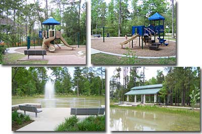 Woodlands Texas Pepperdale Park