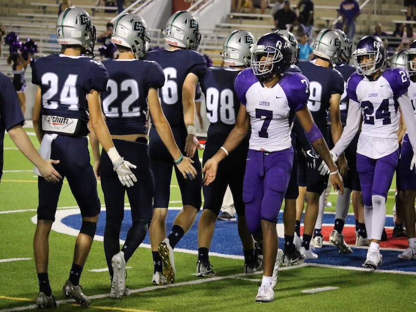 Photo 12362 College Park Football Vs Lufkin Sept 29 2017