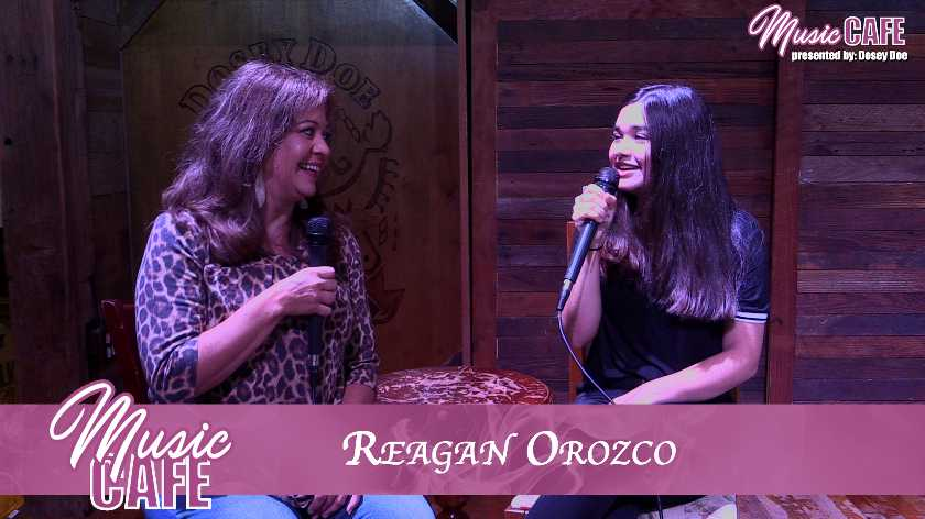 Music Cafe - 034 - Reagan Orozco