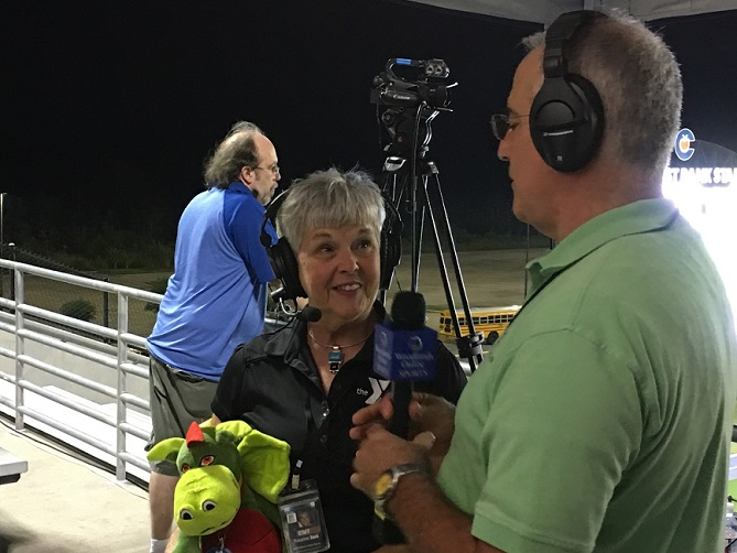 HS Football Halftime Interview: Roxanne Davis from the YMCA 09/05/19