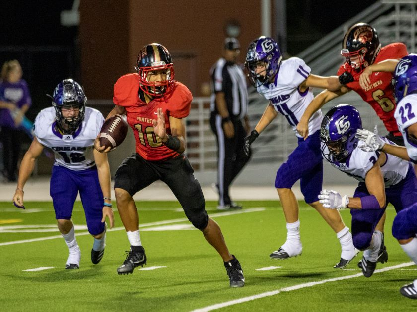 HS Football Highlights: Caney Creek vs College Station - 9/26/19