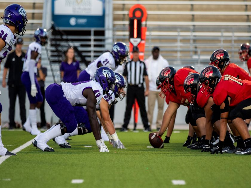 HS Football: Caney Creek vs College Station - 9/26/19