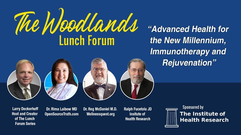 Advanced Health for the New Millennium, Immunotherapy and Rejuvenation Livestream