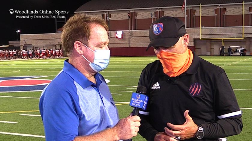 HS Football Post Game Coaches Interview: Grand Oaks vs Caney Creek - 9/24/20