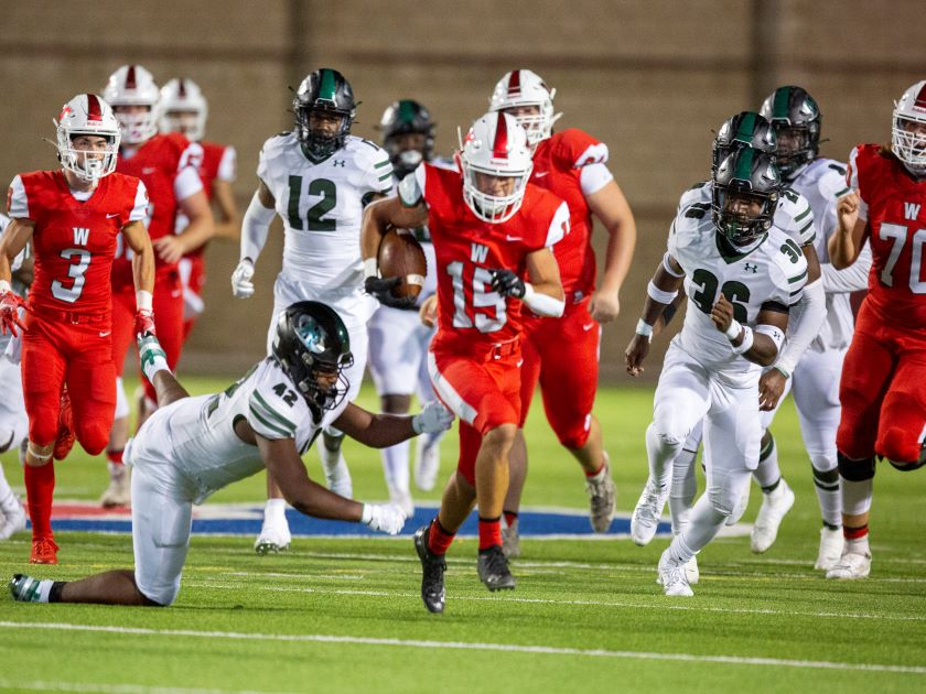 HS Football Highlights: The Woodlands vs Hightower - 10/16/20